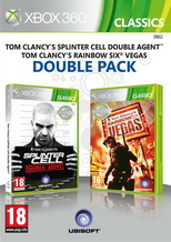 Splinter Cell Double Agent + Rainbow Six Vegas Xbox 360