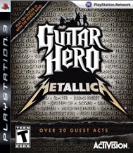 Guitar Hero Metallica (Игра + Гитара) PS3