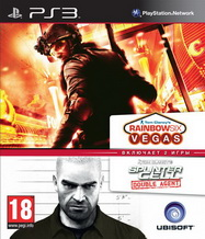 Splinter Cell Double Agent + Rainbow Six Vegas PS3