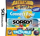 4-in-1: Battleship / Connect Four / Sorry / Trouble