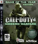 Call of Duty 4 Modern Warfare - Game of the Year